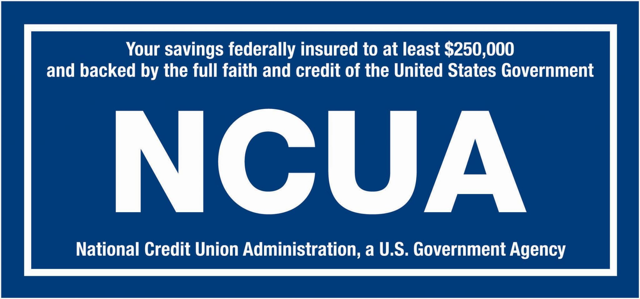 Blue NCUA Logo