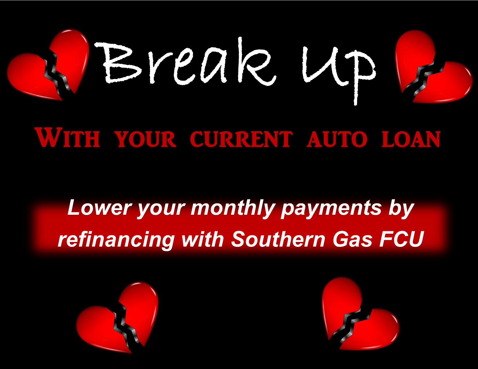 Switch your auto loan to Southern Gas and save!