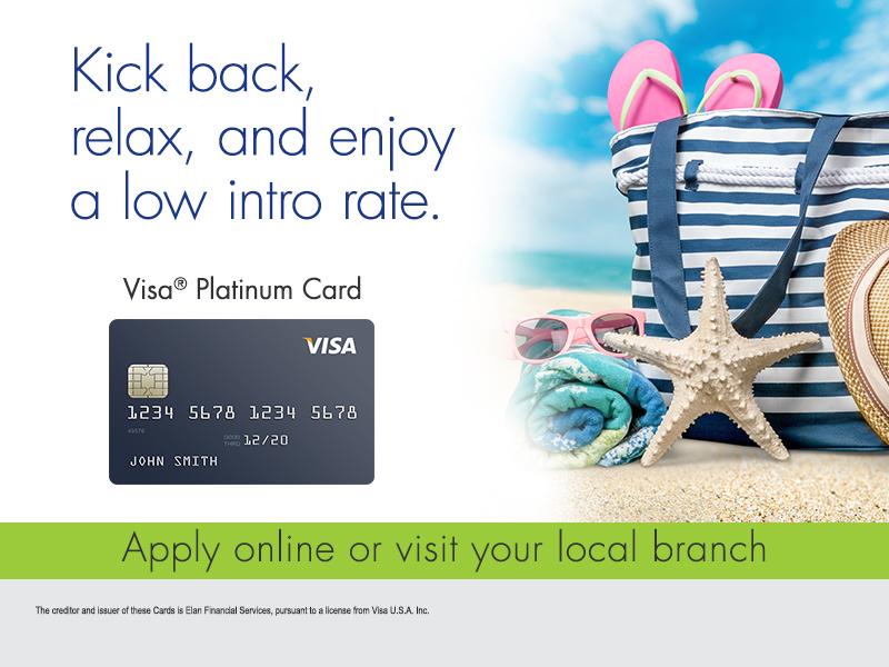 VISA platinum ATM card promo